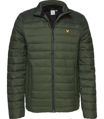 lightweight quilted jacket gevoerd jack groen lyle & scott