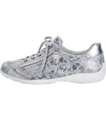 skor remonte silverfärgad