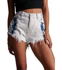 superdry women's cut-off shorts