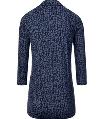 blouse met 3/4-mouwen van efixelle blauw