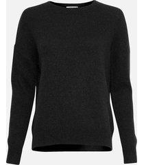 moss copenhagen | femme mohair o pullover black