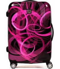 "ful atomic 24"" spinner rolling luggage suitcase"
