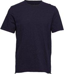 bass slub tee t-shirts short-sleeved blå neuw
