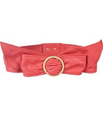 philosophy di lorenzo serafini bow detail belt