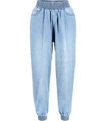 jeans baggy con cinta elastica (blu) - bpc bonprix collection