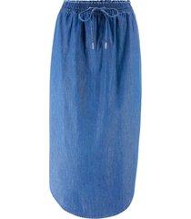 gonna di jeans con elastico (blu) - john baner jeanswear