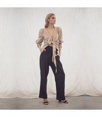 pantalon negro para mujer fatima pantalon fatima negro-s