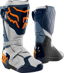 botas comp r azul fox
