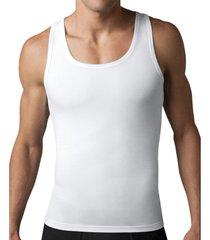 kit com 05 cintas redutora masculina e postural slim fitness   branca - branco - masculino - dafiti