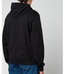 kenzo men's classic logo hoodie - black - s