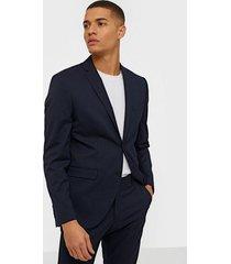 selected homme slhslim-mylologan navy blazer b noo kavajer & kostymer mörk blå