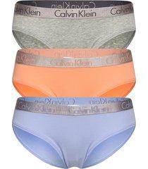 bikini 3pk trosa brief tanga multi/mönstrad calvin klein