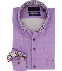 mouwlengte 7 overhemd portofino paars