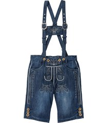 bermuda di jeans bavaresi (blu) - bpc selection
