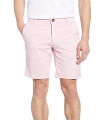 men's rodd & gunn the peaks regular fit shorts, size 42 - pink