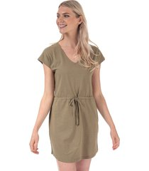 womens pastel life v-neck dress