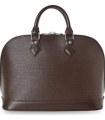 alma pm epi leather handbag