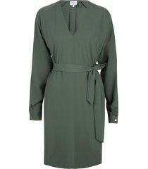 jurk biseu  groen