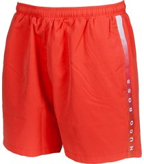 hugo boss zwembroek seabream bright red