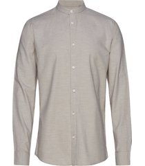 anholt overhemd casual grijs minimum