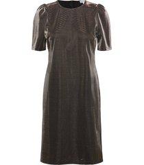 besina dress knälång klänning svart desires
