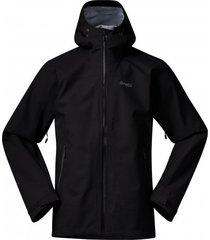 bergans jas men gjende 3l black solid charcoal-l