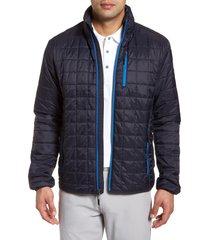 men's big & tall cutter & buck rainier primaloft insulated jacket, size 5xb - blue
