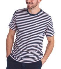 barbour men's delamere stripe t-shirt