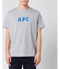 a.p.c. men's gael t-shirt - grey - xxl