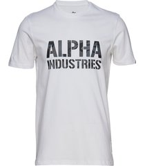 camo print t t-shirts short-sleeved vit alpha industries