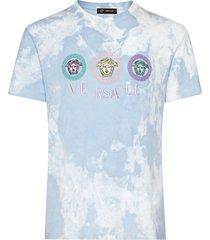 tie-dye medusa logo t-shirt