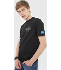 camiseta john john dominatino preta - preto - masculino - algodã£o - dafiti