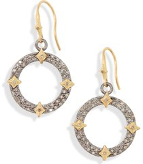 women's armenta drop hoop earrings