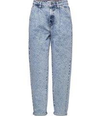 michelle jeans mom jeans blå mango