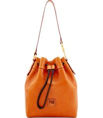 dooney & bourke florentine hattie leather drawstring bag