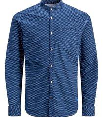 plus size overhemd maokraag