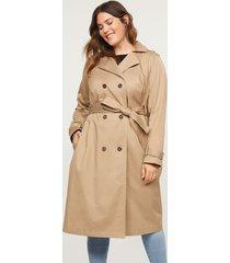 lane bryant women's trench coat 26/28 fauna