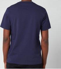 kenzo men's tiger crest classic t-shirt - navy blue - xl