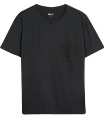 camiseta descanso hombre unicolor