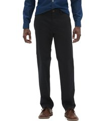 pantalon straight stretch negro gap