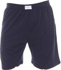 pijama algodão mechler short preto