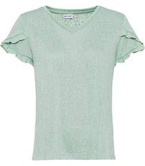 maglia con pizzo (verde) - bodyflirt