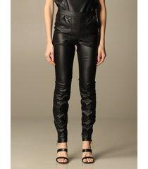 armani collezioni armani exchange pants armani exchange pants in synthetic leather