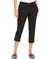 style & co cuffed capri pants, created for macy's