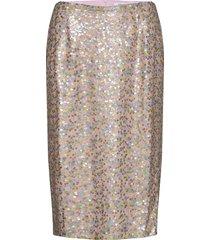 enbeauty skirt 6738 knälång kjol rosa envii