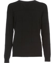 giorgio armani sweater crew neck square