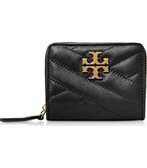 tory burch designer wallets, kira chevron bi-fold wallet