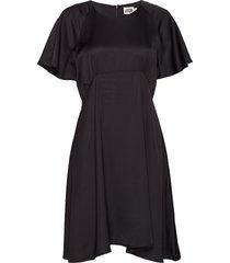 elmira dress knälång klänning svart twist & tango