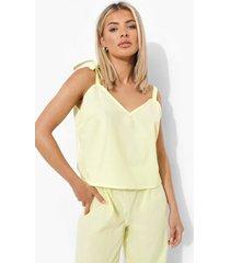 mix & match licht pyjama hemdje, lemon
