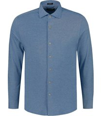 overhemd cut away blauw